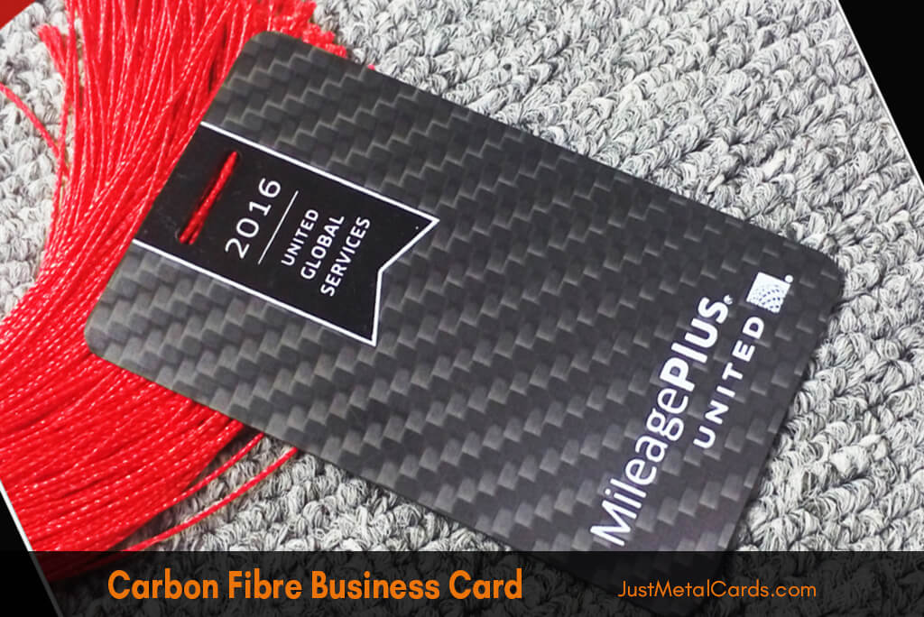 carbon fiber business card j2