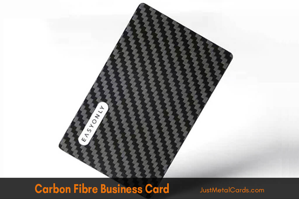 carbon fiber business card j3