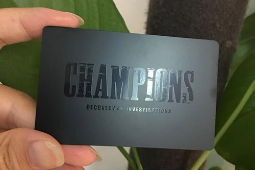 Why Choose Metal Business Card