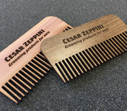 metal business card comb