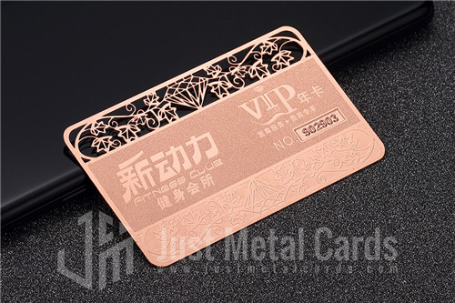 copper business cards