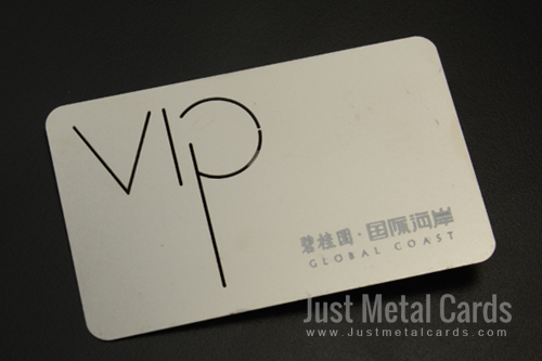 Costa VIP steel business card