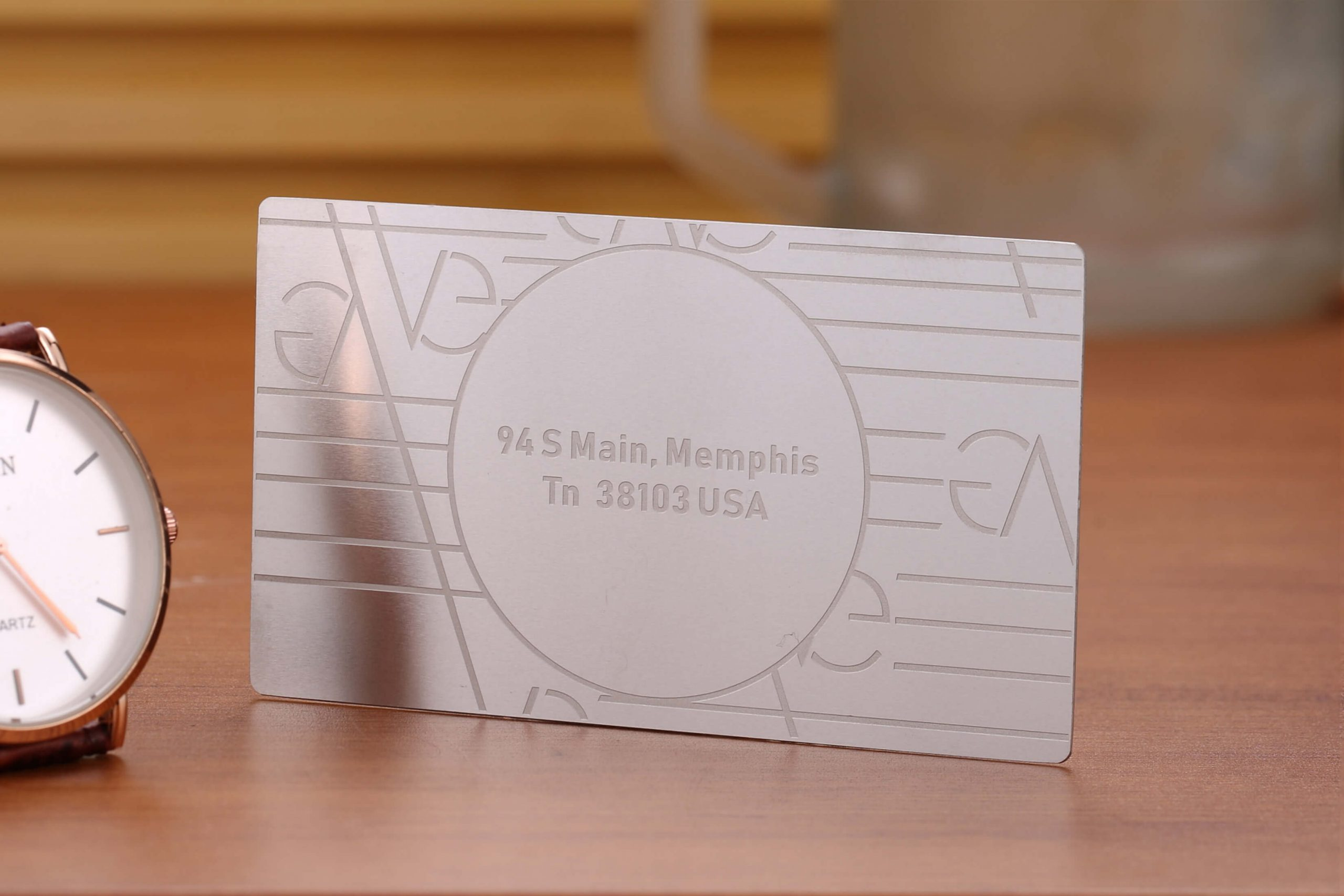 fastest delivery metal business card