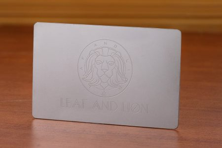 lion quick print business card