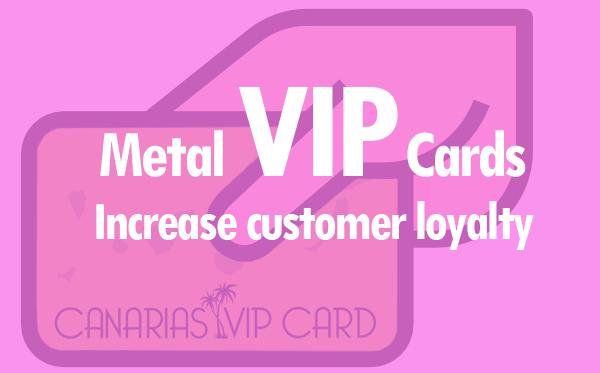 Metal Vip card banner
