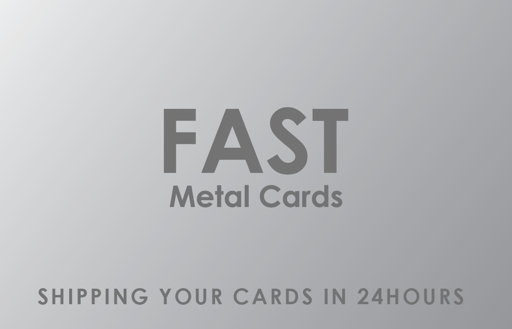 fast metal cards