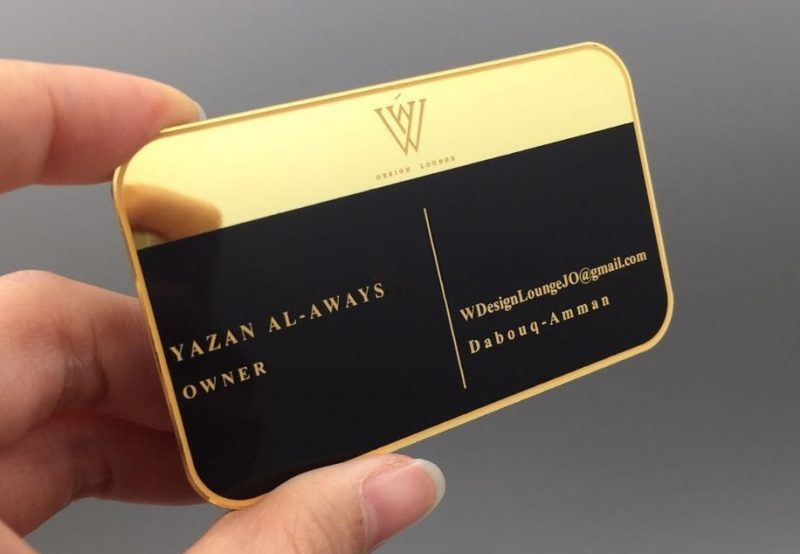 mirror-metal-business-card