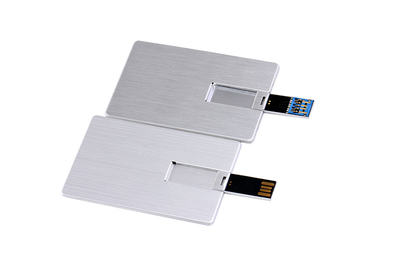 Metal Business cards with USB